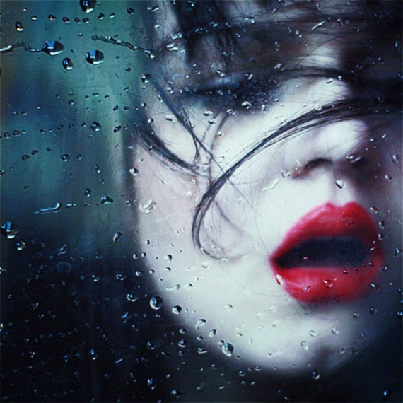 girl-water-drops-red-lips-poem