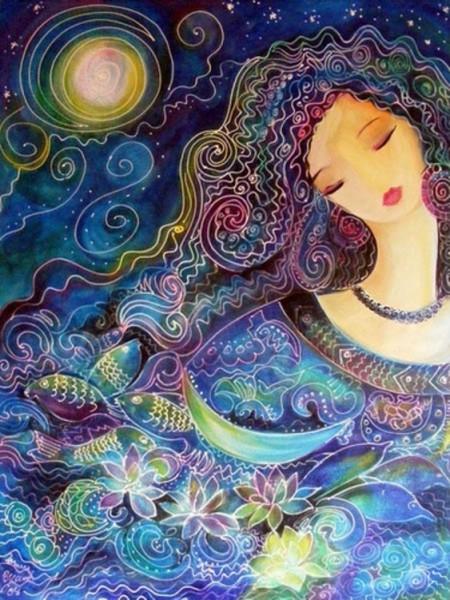 beauty colours moon stars