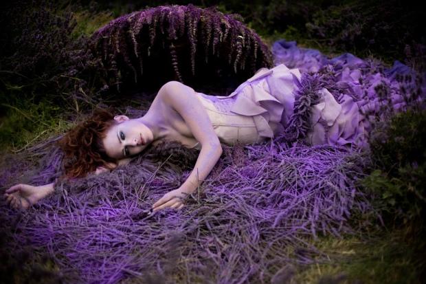 lavender-dress-girl-fashion