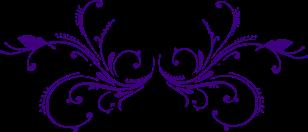 lilac-butterflies-decorative