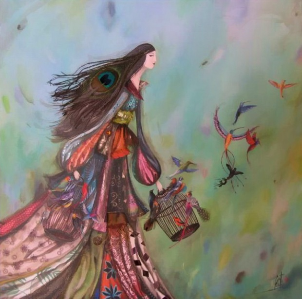 girl-cage-birds-painting-lovely-day-vef